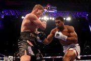 Joshua noquea a un valiente Povetkin en 7 asaltos y retiene títulos