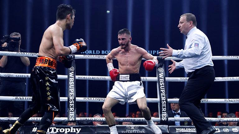 Una lesión de Burnett convierte a Nonito Donaire en campeón del mundo