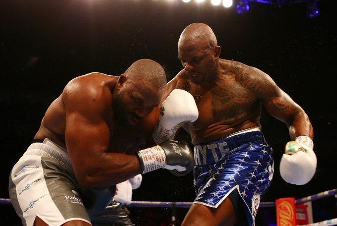 Whyte noqueó de forma brutal a Chisora en Londres