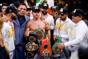 Por negarse a pelear, le quitan cinturón de campeonato mundial al Canelo Álvarez