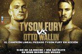 Otto Wallin podría ser una leyenda, de vencer a Tyson Fury el sábado
