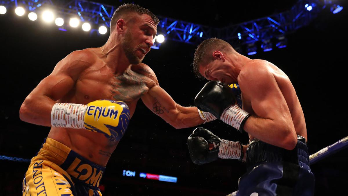 Vasiliy Lomachenko venció por decisión unánime a Luke Campbell y se afianzó como el dueño del peso ligero