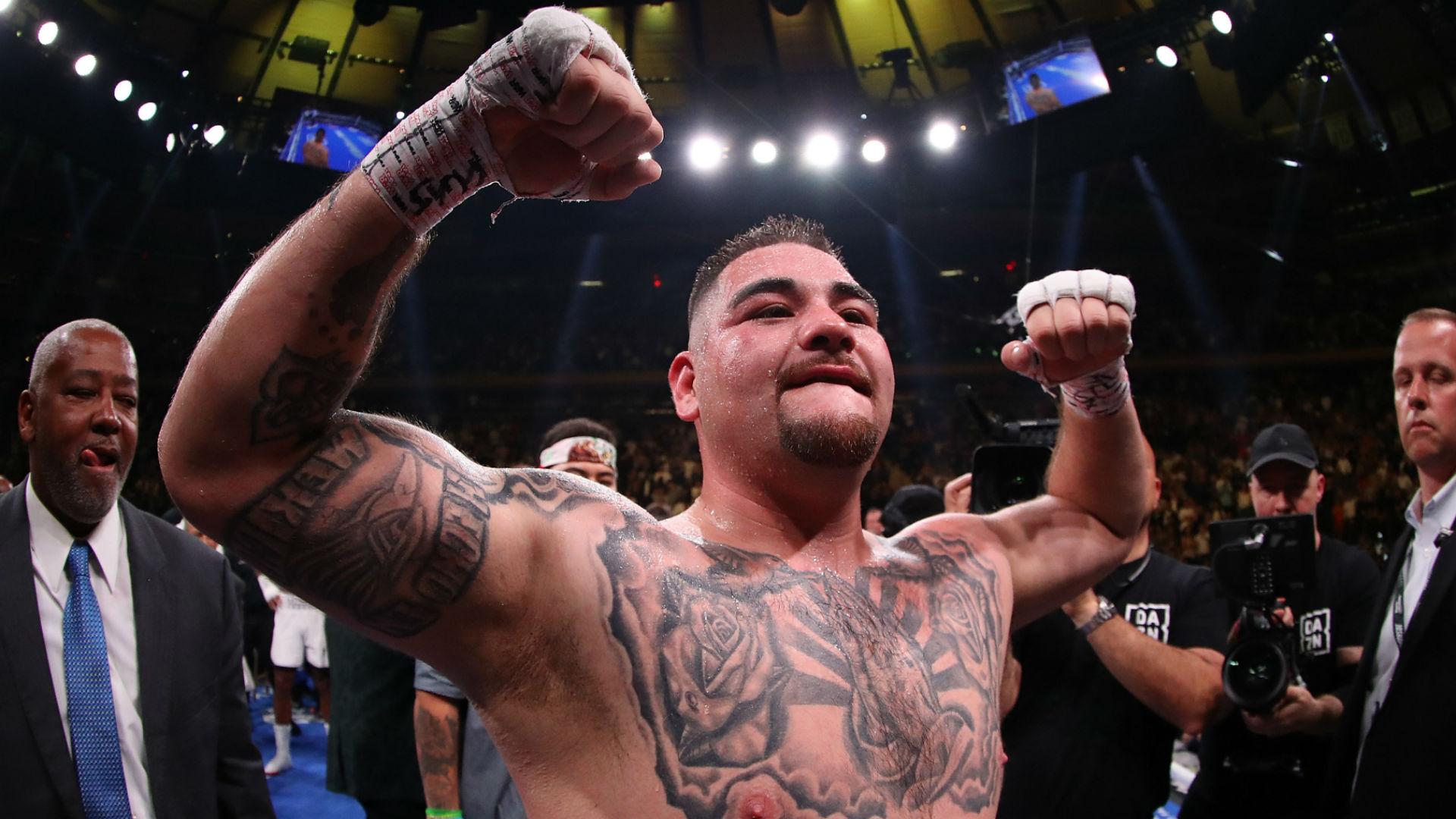 La cifra millonaria que ganará Andy Ruiz por pelear el sábado