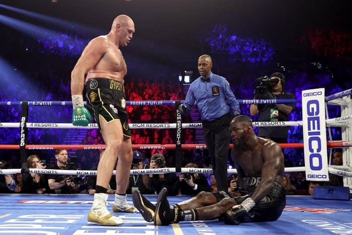 Deontay Wilder dijo que tuvo que ser operado tras perder con Tyson Fury