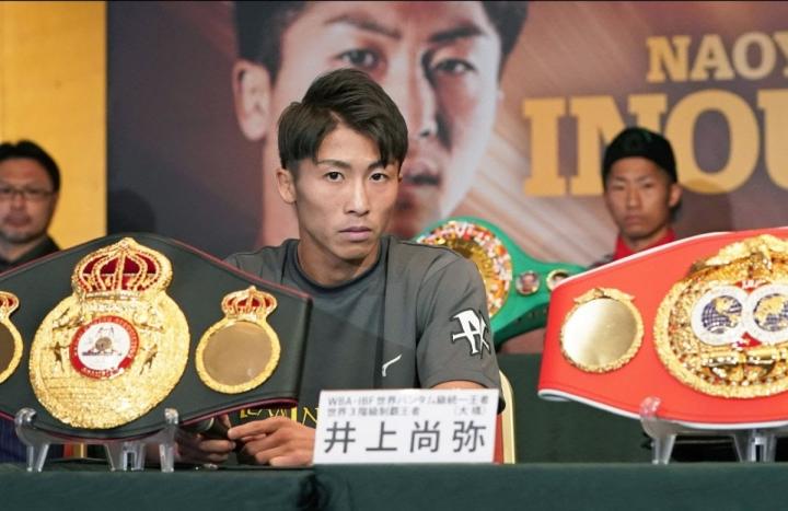 Naoya Inoue se mantiene en forma y quiere enfrentar a Casimero
