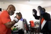 Mike Tyson: «Quiero ir al gimnasio y ponerme en forma para boxear para organizaciones benéficas»