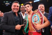 Ryan García y Oscar De La Hoya en desacuerdo una vez más