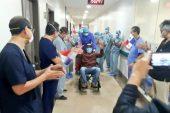 Durán es dado de alta y continuará recuperación de Covid-19 desde su casa
