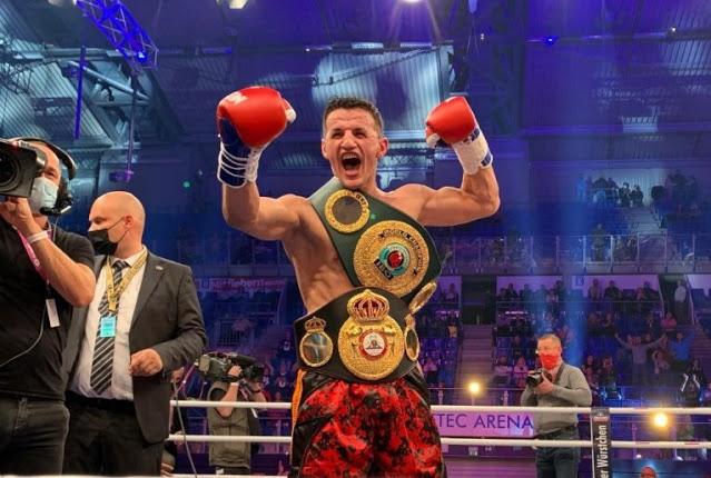 Krasniqi se corona campeón ante Bösel