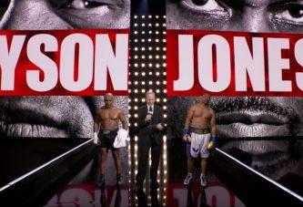 Tyson y Jones cumplen histórico retorno al ring