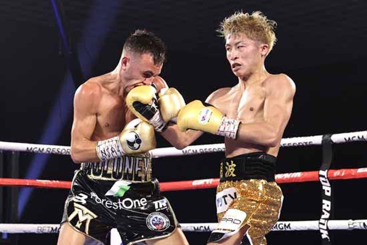 Invicto japonés Inoue retiene títulos de la AMB y FIB