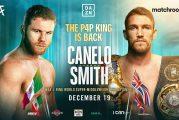Canelo Alvarez vs.Callum Smith finalizado para el 19 de diciembre