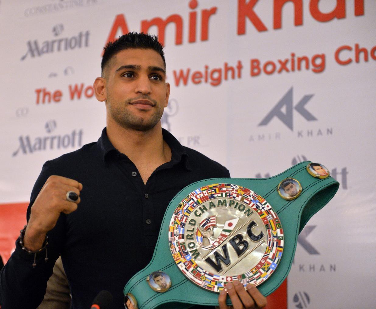 Amir Khan es ahora el presidente del CMB para Medio Oriente
