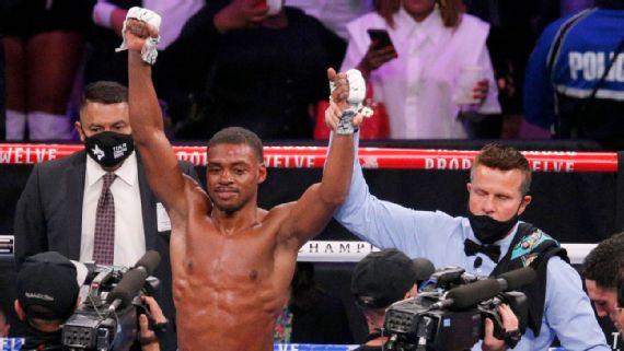 Errol Spence intentará tres peleas el próximo año: En el 2021 estaré ocupado