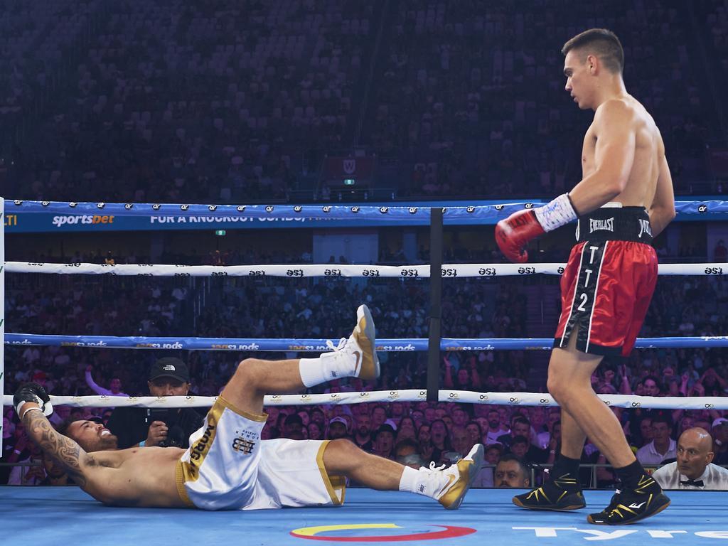 El KO de 114 segundos de Tszyu sobre Morgan es el preludio perfecto para una pelea por el título mundial