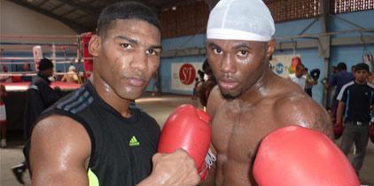 Yuriorkis Gamboa entrena en Panamá