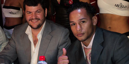 Tyson Marquez será el rival del Nica Concepción