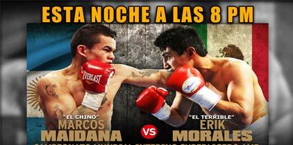 Maidana-Morales hoy por Lo Mejor del Boxeo