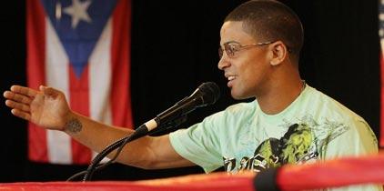 Wilfredo Vázquez Jr. confiado en su victoria