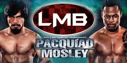 El combate de hoy entre Manny Pacquiao y Shane Mosley presenta un pareo entre dos futuros miembros del salón de la fama