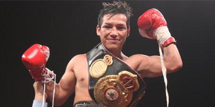 Tyson Márquez defenderá su corona