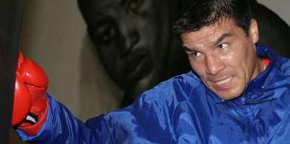 El Tata Baldomir ganó por puntos ante el uruguayo Silva Díaz