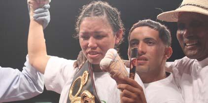 Lista la segunda defensa de Chanttall Martínez