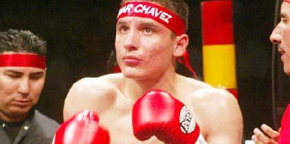 Omar Chávez noqueó en un round