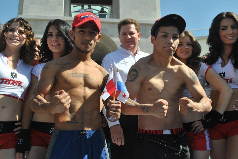 El Nica y el Tyson hacen el peso