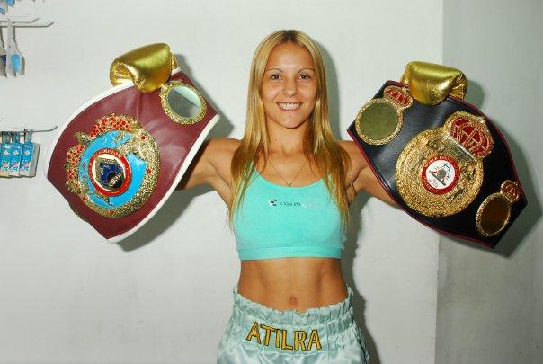 Yésica Bopp retuvo el título minimosca en Puerto Rico