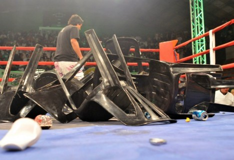 El boxeo argentino tocó fondo