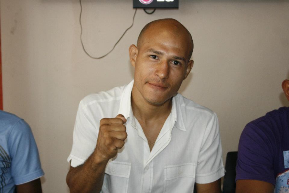 """""""Estoy de vuelta"""", Whyber García"""