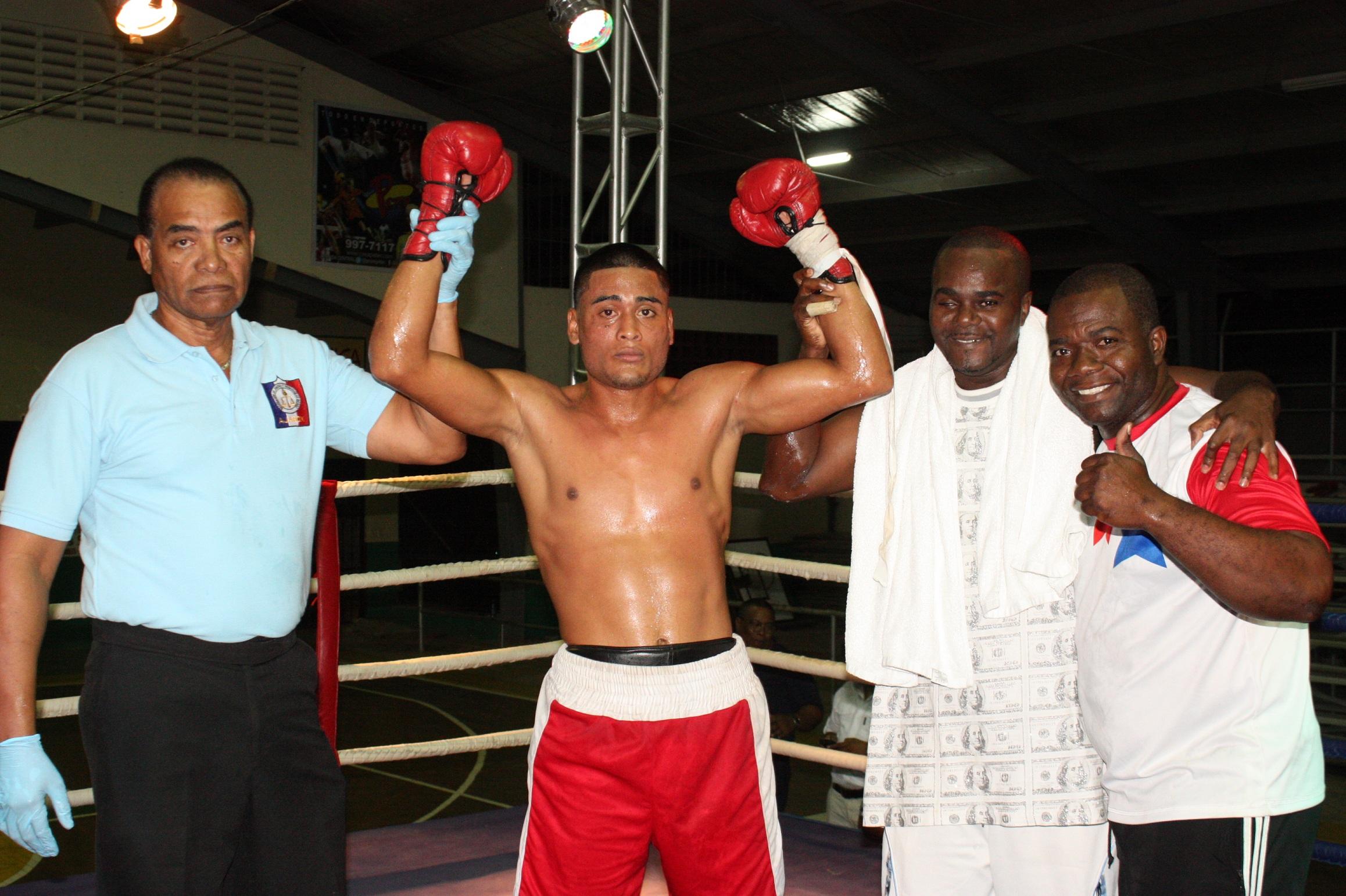 Resultados del boxeo en Penonomé, Panamá