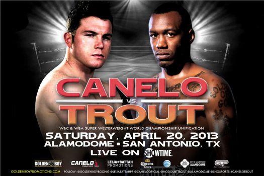 Canelo vs Trout esta noche en vivo por Lo Mejor del Boxeo. 8:00pm