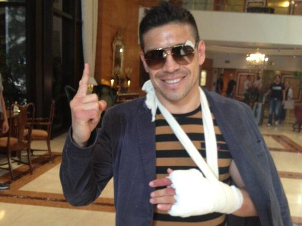 Confirman fractura en la mano izquierda de 'Maravilla' Martínez