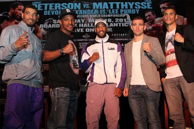 Peterson-Matthysse hoy a las 7pm por Lo Mejor del Boxeo