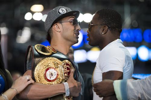 Paulie Malignaggi y Adrien Broner tuvieron caliente conferencia de prensa. La pelea en vivo por Lo Mejor del Boxeo, sábado 8pm