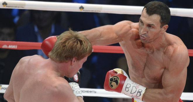 Klitschko dominó a Povetkin en Rusia