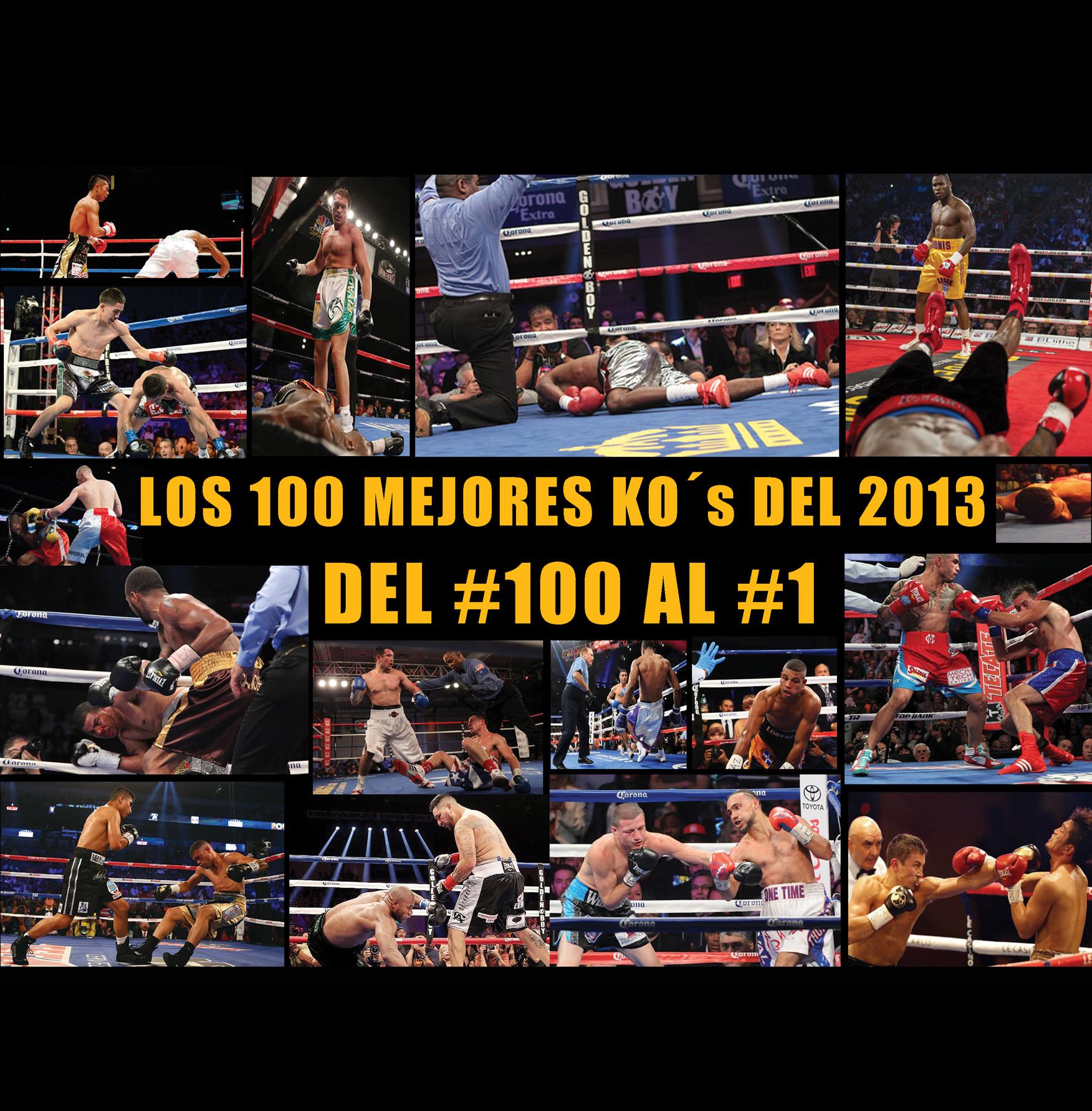 Los 100 mejores KOs del 2013, hoy por LMB
