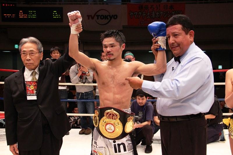 Kohei Kono gana por KO y se corona en 115 libras