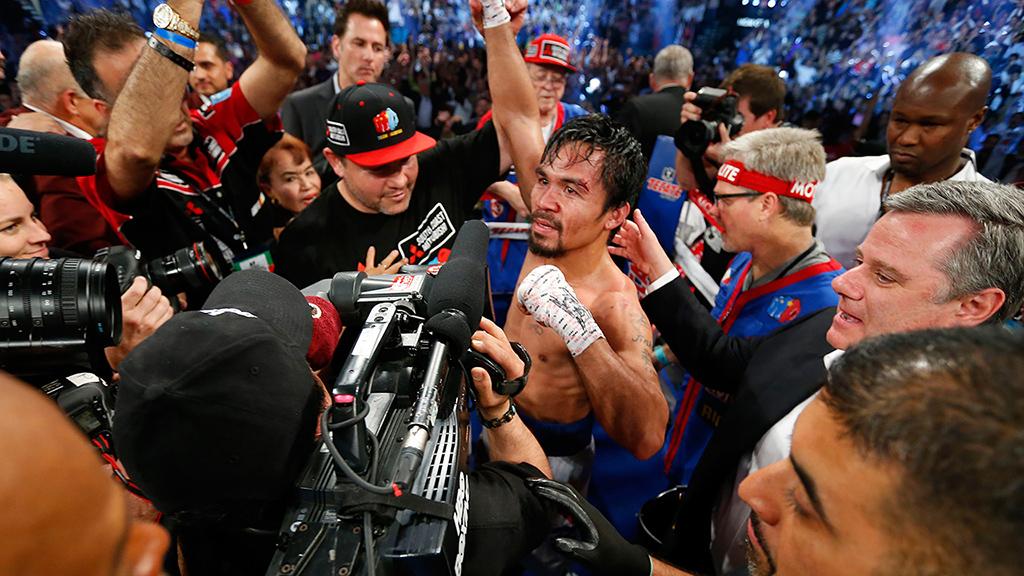 Manny Pacquiao es campeón de nuevo