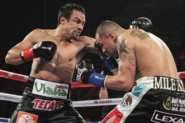 Juan Manuel Márquez domina a Mike Alvarado