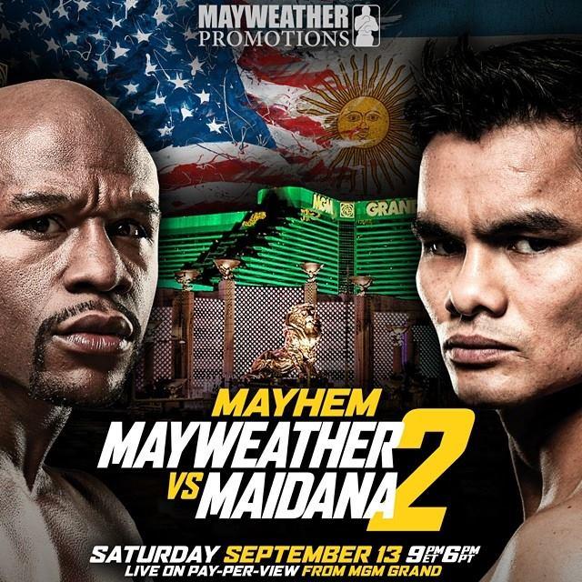 Mayweather y Maidana en una revancha esperada, en vivo por Lo Mejor del Boxeo
