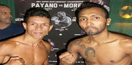 Chemito y Payano en el peso