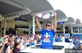 Reciben a Payano como héroe nacional en República Dominicana