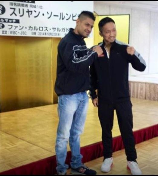 JC Salgado listo para Aoh este miércoles en Japón