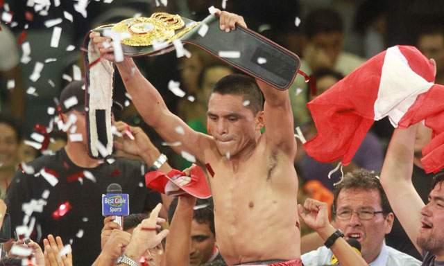Peruano Rossel defenderá corona AMB en Japón el 31 de diciembre