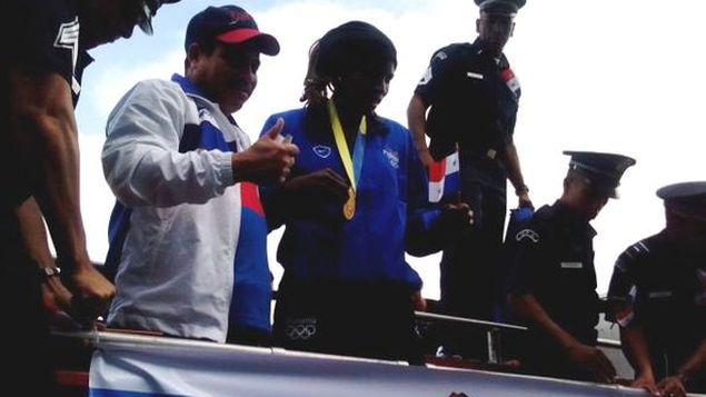 Atheyna Bylon: Mi objetivo es prepararme fuerte para Río 2016