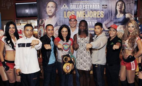 Jackie Nava vence por decisión a panameña Sayda Mosquera en buen combate