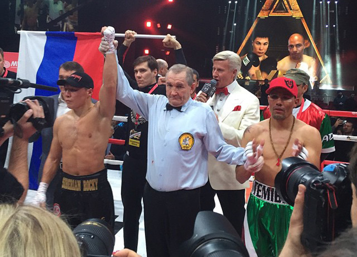 Mexicano José Luis Castillo pierde por KO técnico en Rusia